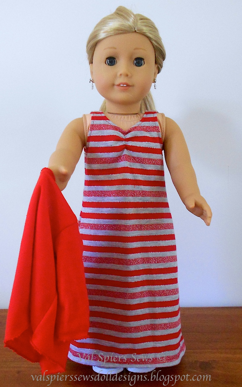 Doll Clothes Patterns By Valspierssews Review Of American: Doll Clothes Patterns By Valspierssews: Maxi Dress