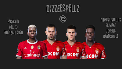 PES 2020 Facepack V3 by DizzeeSpellz