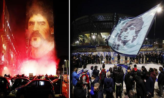 Napoli stadium to be named for Maradona