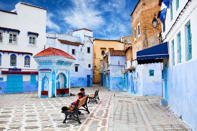 Chefchaouene en Marruecos