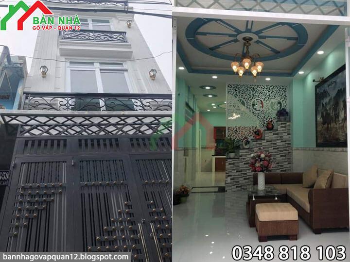 Nhà Gò Vấp hẻm 133 Quang Trung phường 10