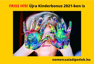 Kinderbonus 2021-ben is