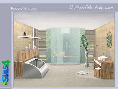 Ванная — наборы мебели и декора для Sims 4 со ссылками на скачивание,