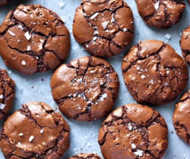 Delicious Salted Brownie Cookies