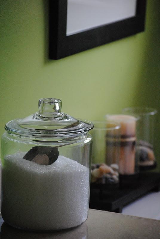 Bath salts on display
