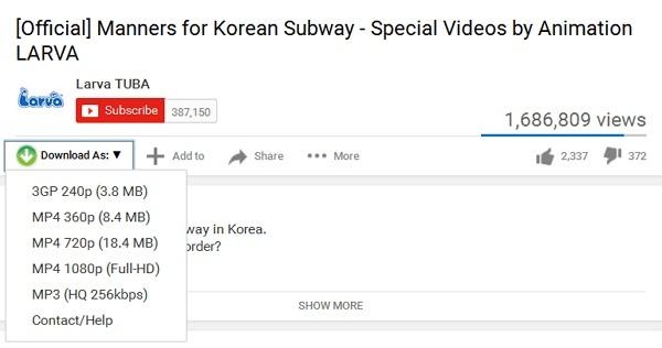 Tips mudah download video youtube