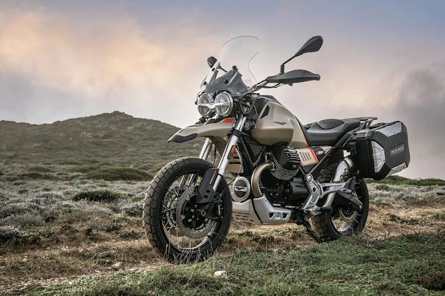 Moto Guzzi V85 TT Travel Indonesia