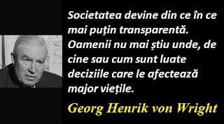 Citatul zilei: 13 iunie - Georg Henrik von Wright