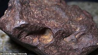 «Πέτρα» που στήριζε εξώπορτα για 30 χρόνια ήταν κομμάτι από μετεωρίτη - Εικόνες