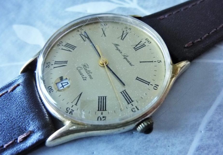6d2284cce7f7b Mougin Piquard quartz watch from the 80s
