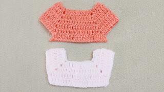 Square crochet chest