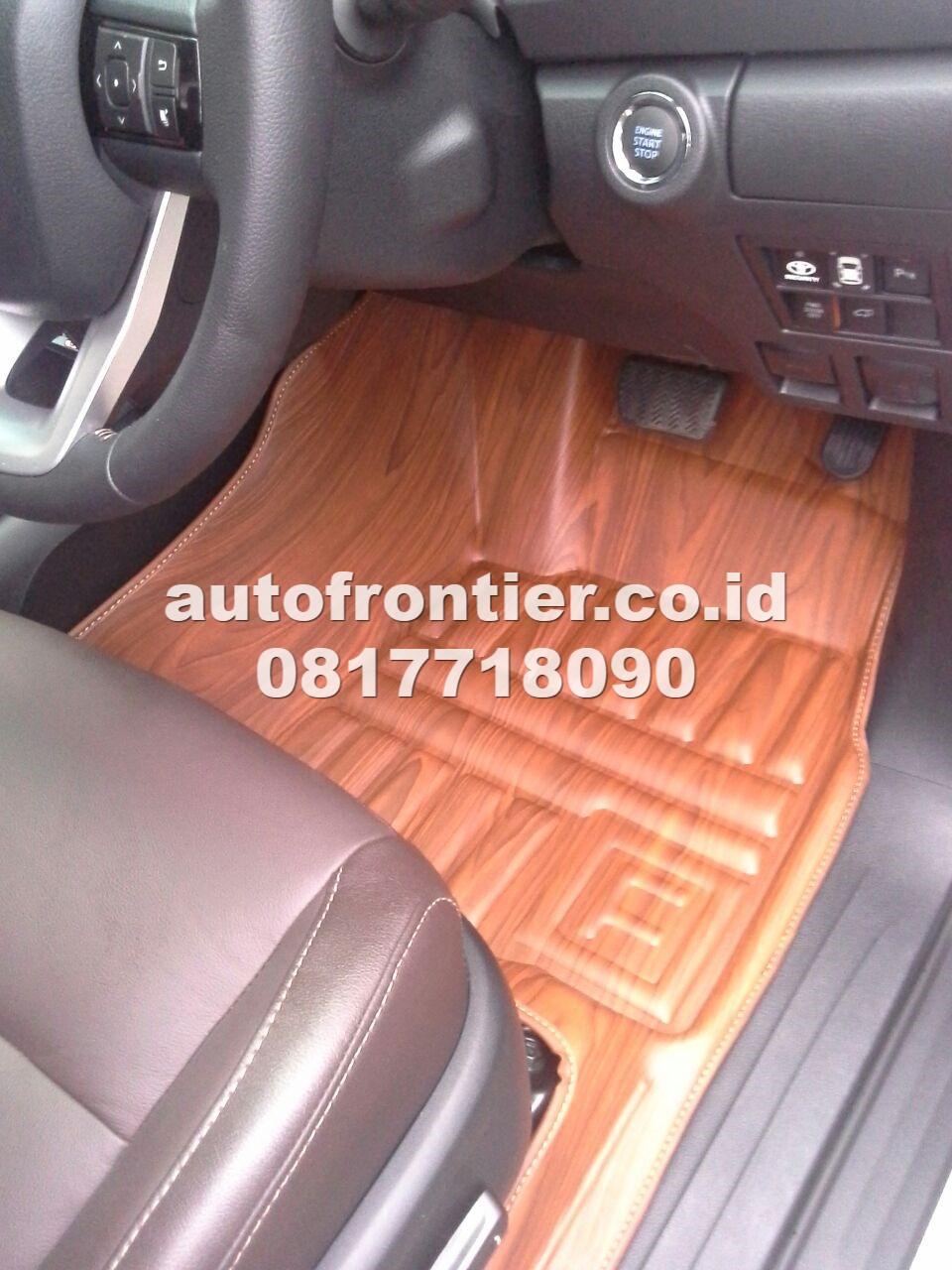 jual karpet mobil fortuner frontier premium keren jual