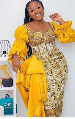 Yellow Lace Styles For Asoebi