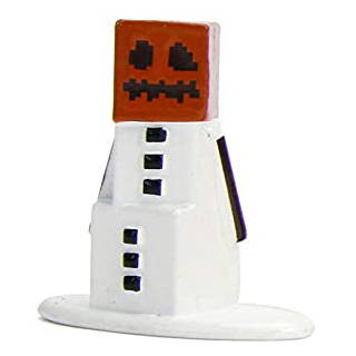 Minecraft Snow Golem Nano Metalfigs 20-Pack Figure