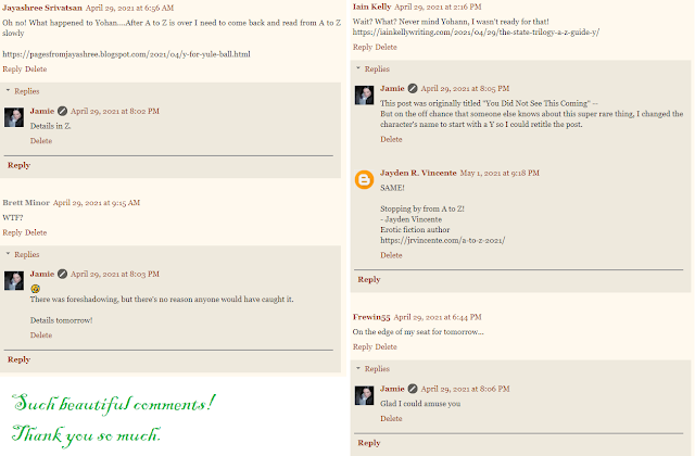 Comments on Jamie's blog Y post