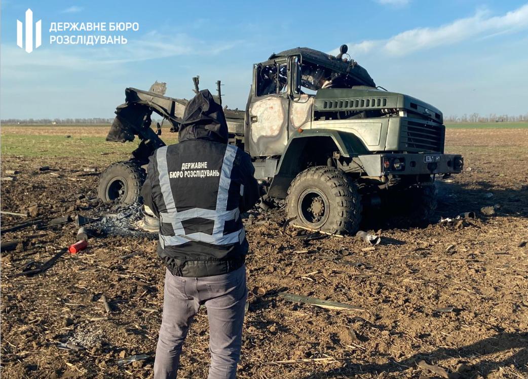 У Херсонській області вибухнула вантажівка з боєприпасами