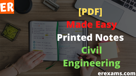 Made Easy Printed Notes for Civil Engineering