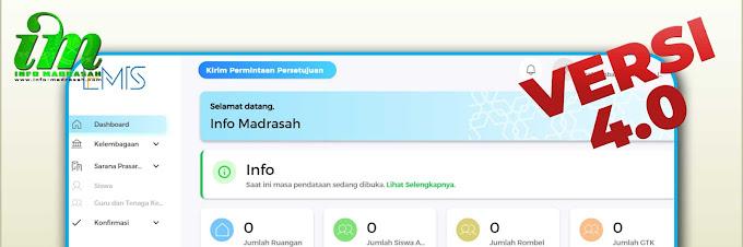 Aplikasi EMIS Madrasah Versi 4.0