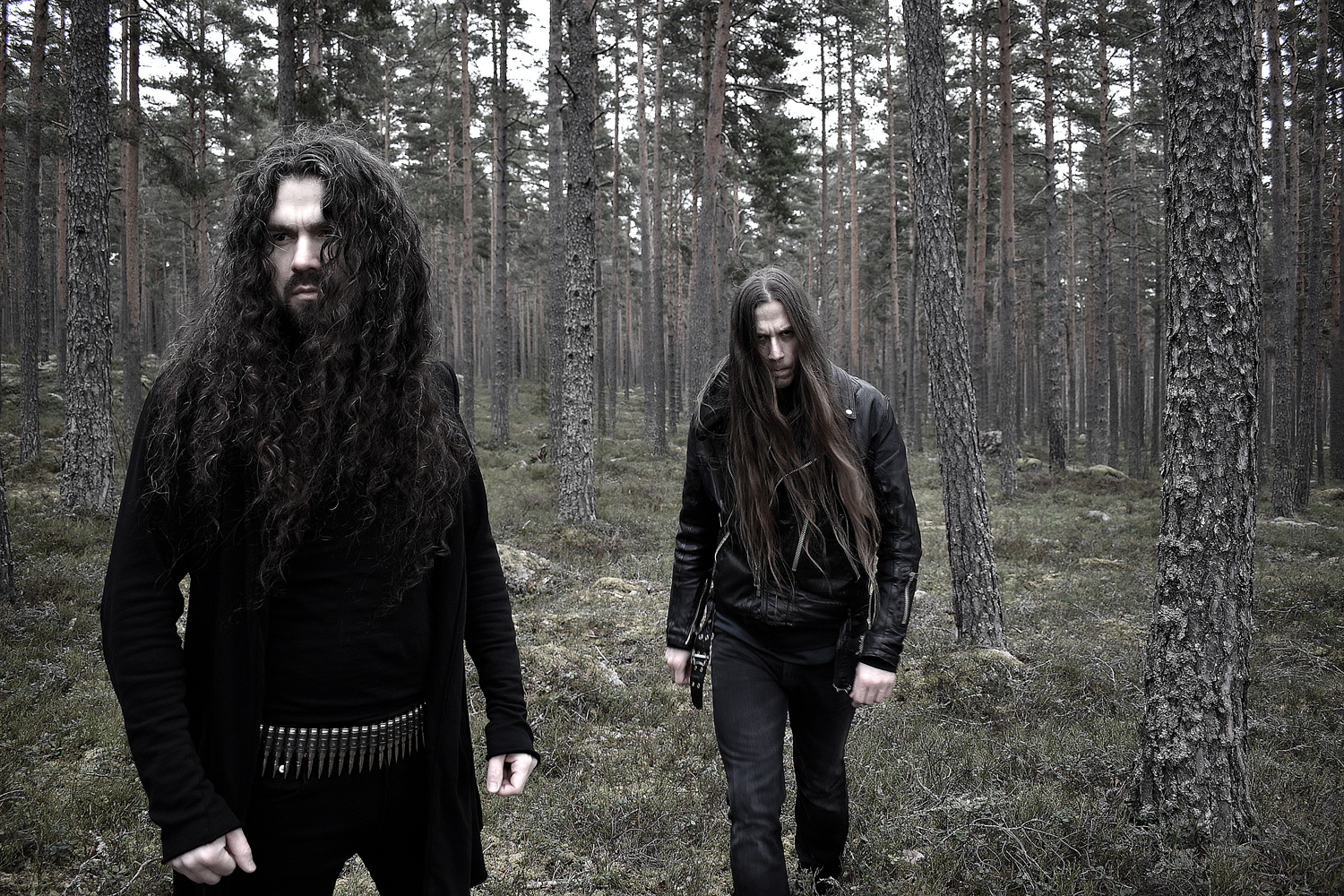 Ages black metal photo band