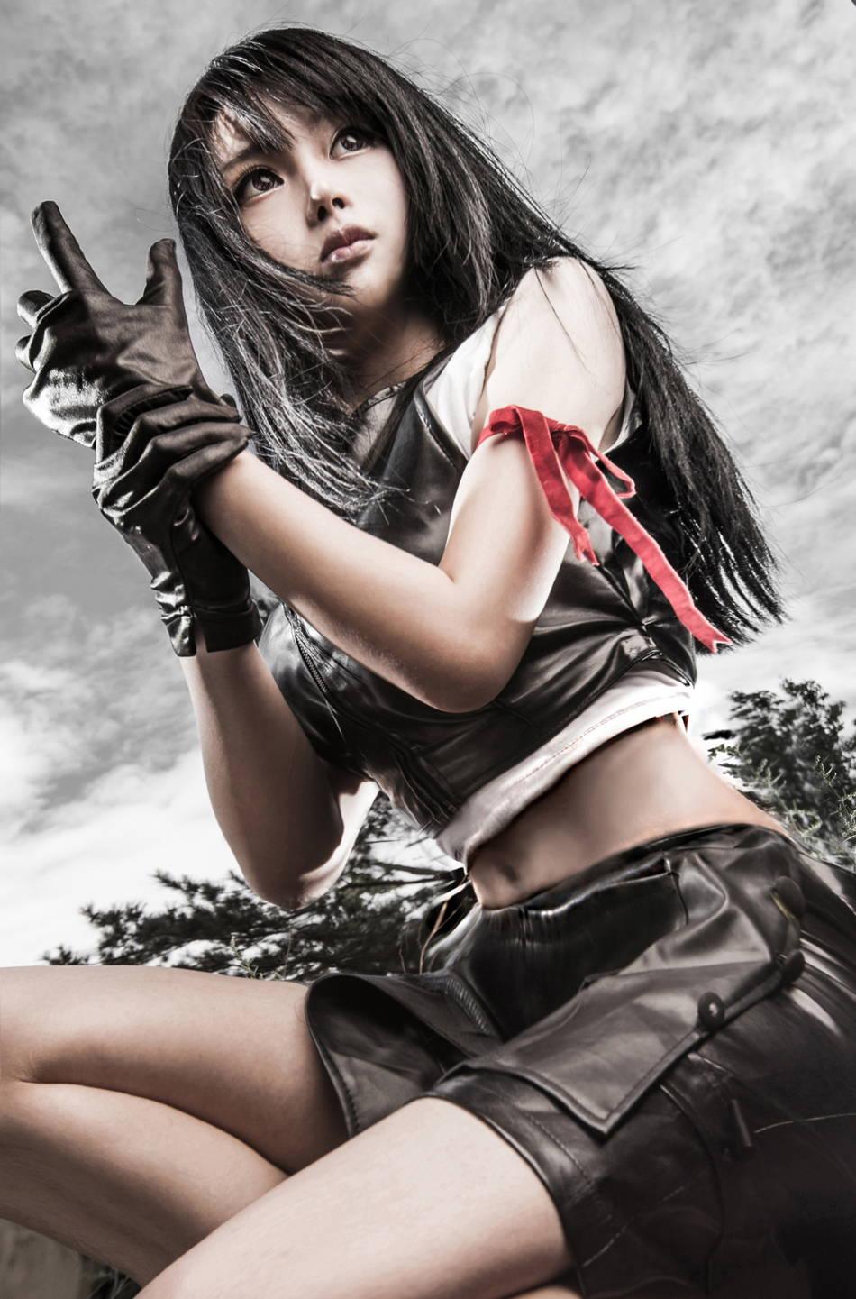 best tifa final fantasy cosplay
