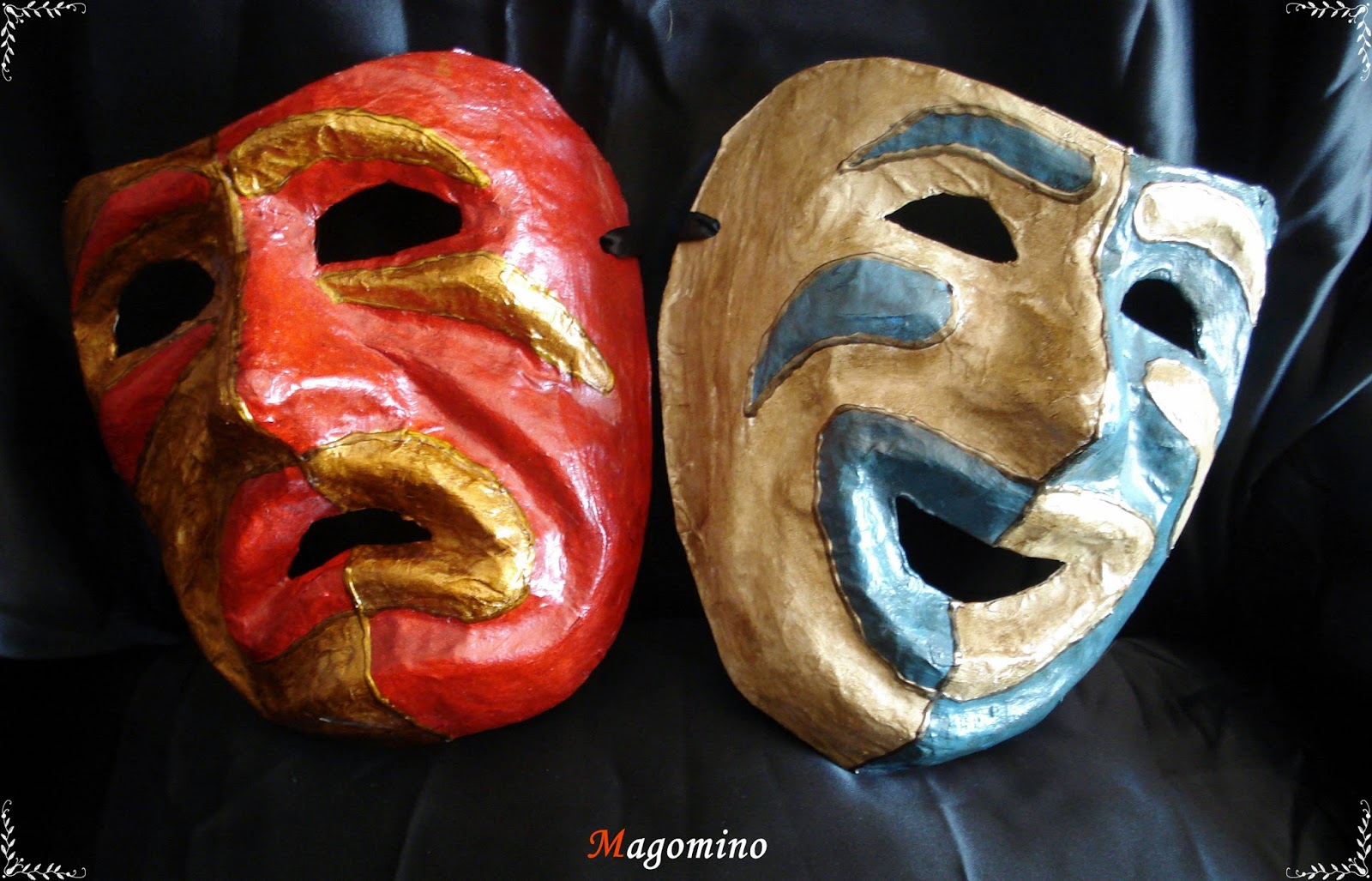 Máscaras Artesanales : Máscaras de la Tragicomedia