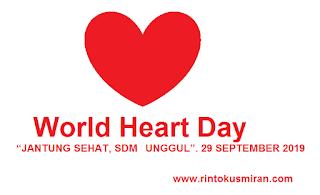 Peringatan  Hari Jantung Sedunia 29 September 2019