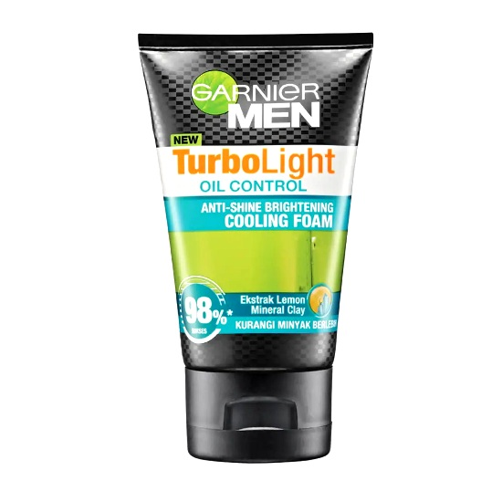 GARNIER Men Turbo Light Oil Control Cooling Foam