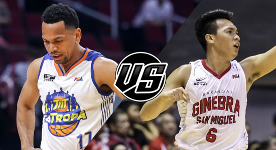 Live Streaming List: TNT vs Ginebra 2018 PBA Governors' Cup