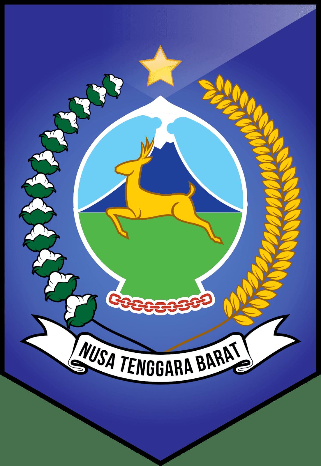 Logo Provinsi Ntb Png : provinsi, Lambang, Propinsi, Tenggara, Barat, Design
