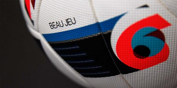 Bola rasmi EURO 2016 Adidas Beau Jeu
