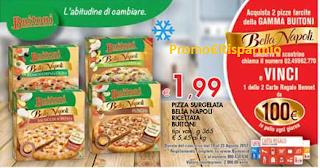 Logo Con Pizza Bella Napoli vinci carte regalo Bennet da 100 €
