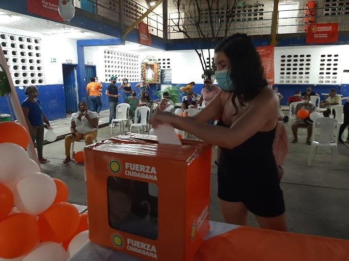 La pluralidad se impuso en elección de representantes por Santa Marta a la Segunda Convención Nacional de Fuerza Ciudadana