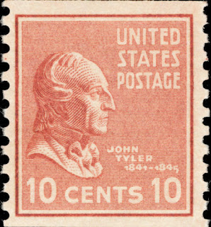 1939 10c John Tyler, 10th U.S. President