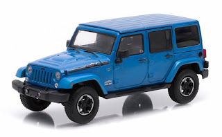 86064 1 43 Scale 2017 Jeep Wrangler Unlimited Hard Top In Hydro Blue Polar Edition