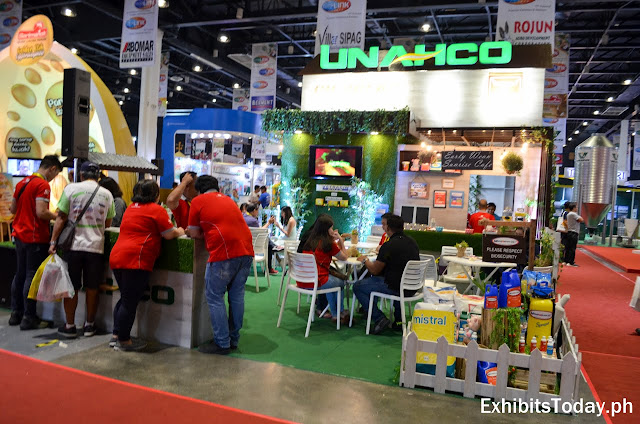 Unahco Exhibit Stand