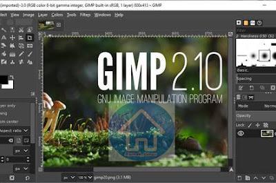 Mengenal Program Design Grafis Keren - Seputar GIMP