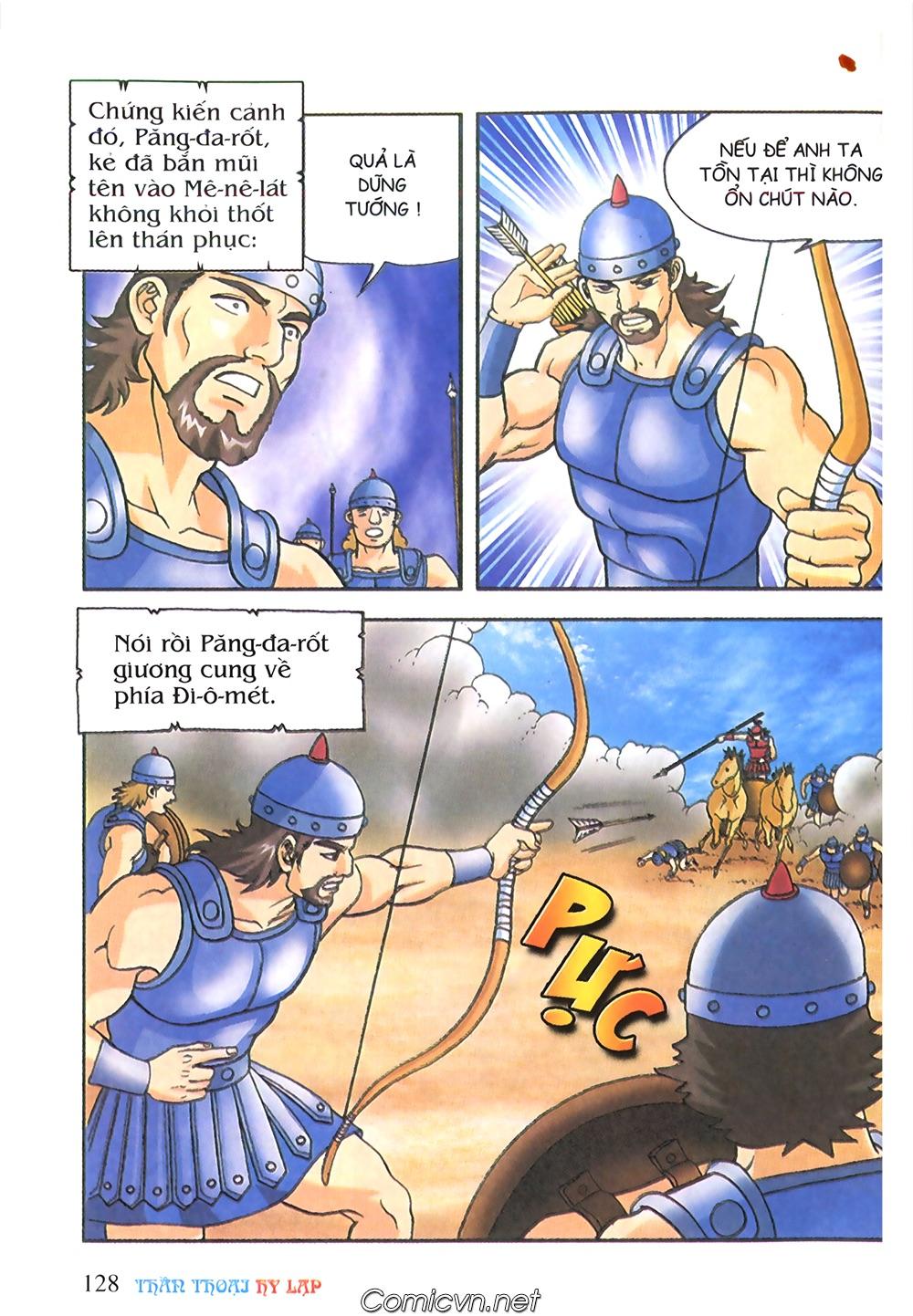Thần Thoại Hy Lạp Màu