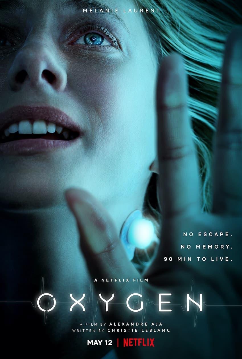 Netflix показал полный трейлер хоррора «Кислород» от Александра Ажа - Постер