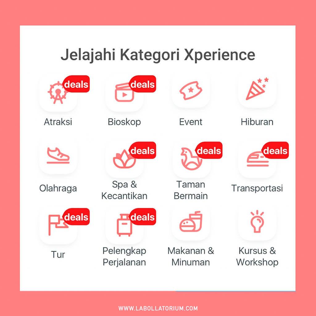 Traveloka Xperience Banyak Kategori Seru Untuk Bebaskan Penat Sesuai Minat #XperienceSeru