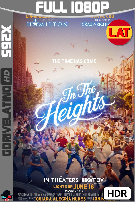 En un barrio de Nueva York (2021) HMAX WEB-DL 1080p x265 HDR10 Latino-Ingles MKV