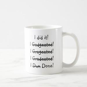 I did it Funny Graduation Humor Graduate White Coffee Mug