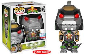"Pop! TV: Power Rangers – 6"" Green Dragonzord."