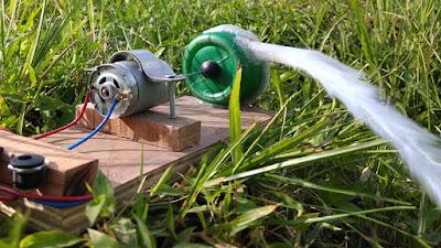 How to make water pump at home--DIY water pump--Home made water pump