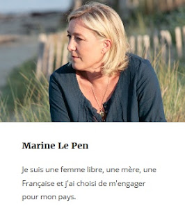 Hollande féministe ? Le nouveau billet de Marine Le Pen sur son blog