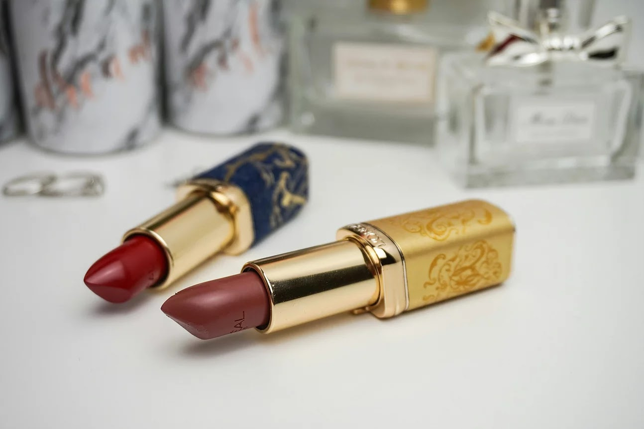L'oreal Paris color riche lipstick lumiere and the rose