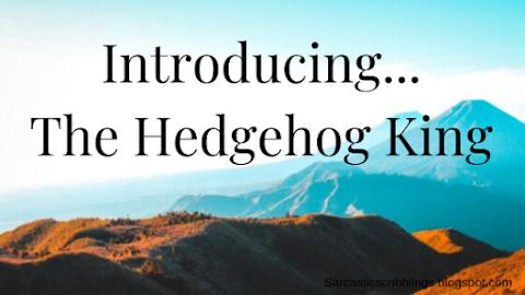 Introducing...The Hedgehog King  // My Super Secret WIP Is Revealed!!!