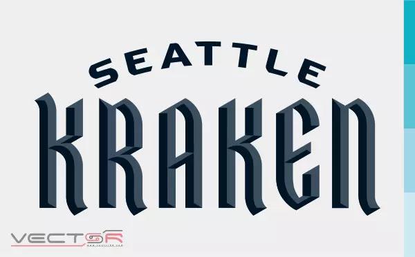 Seattle Kraken Wordmark (2020) Logo - Download Vector File SVG (Scalable Vector Graphics)