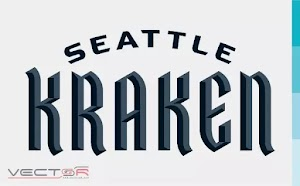 Seattle Kraken Wordmark Logo (.SVG)