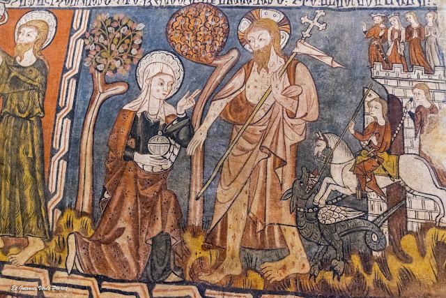 Vida de Cristo (detalle) en San Sebastián de los Caballeros - Toro