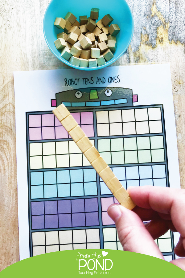 Place Value Partition Tens and Ones Activities